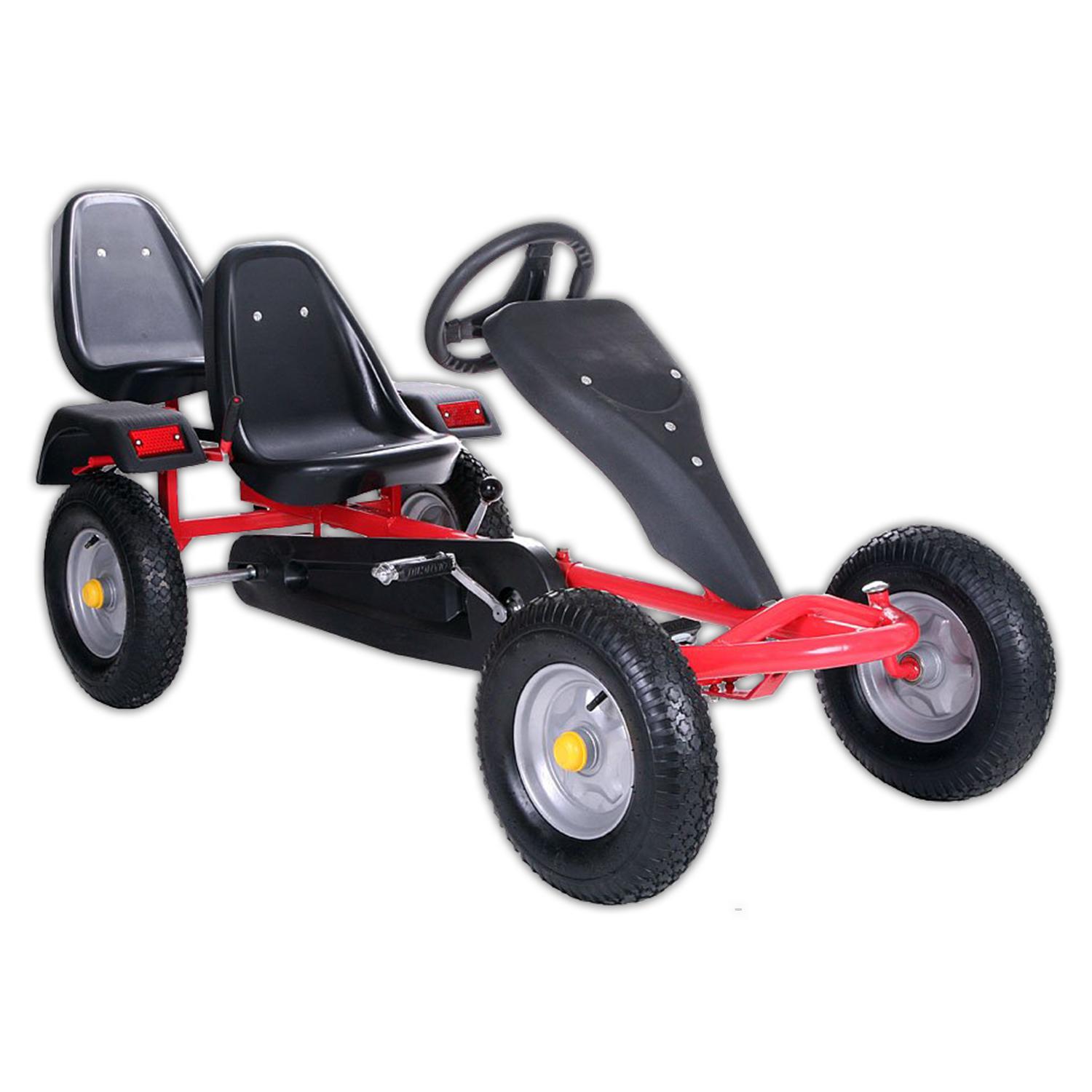 gokart 2 sitz rennkart gocart kinderfahrzeug kinder kart. Black Bedroom Furniture Sets. Home Design Ideas