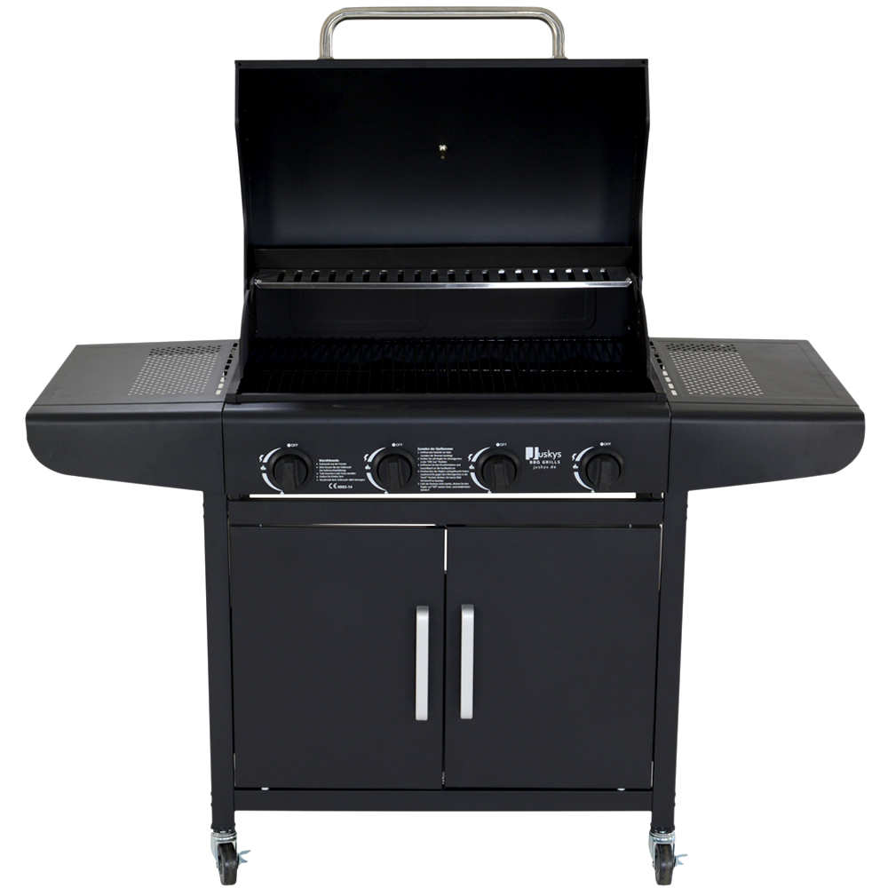 bbq gasgrill gas grill barbecue grillwagen edelstahl brenner neu ebay. Black Bedroom Furniture Sets. Home Design Ideas