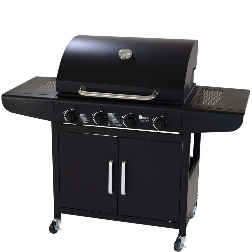 gasgrill bbq gas grill barbecue grillwagen edelstahl brenner neu ebay. Black Bedroom Furniture Sets. Home Design Ideas