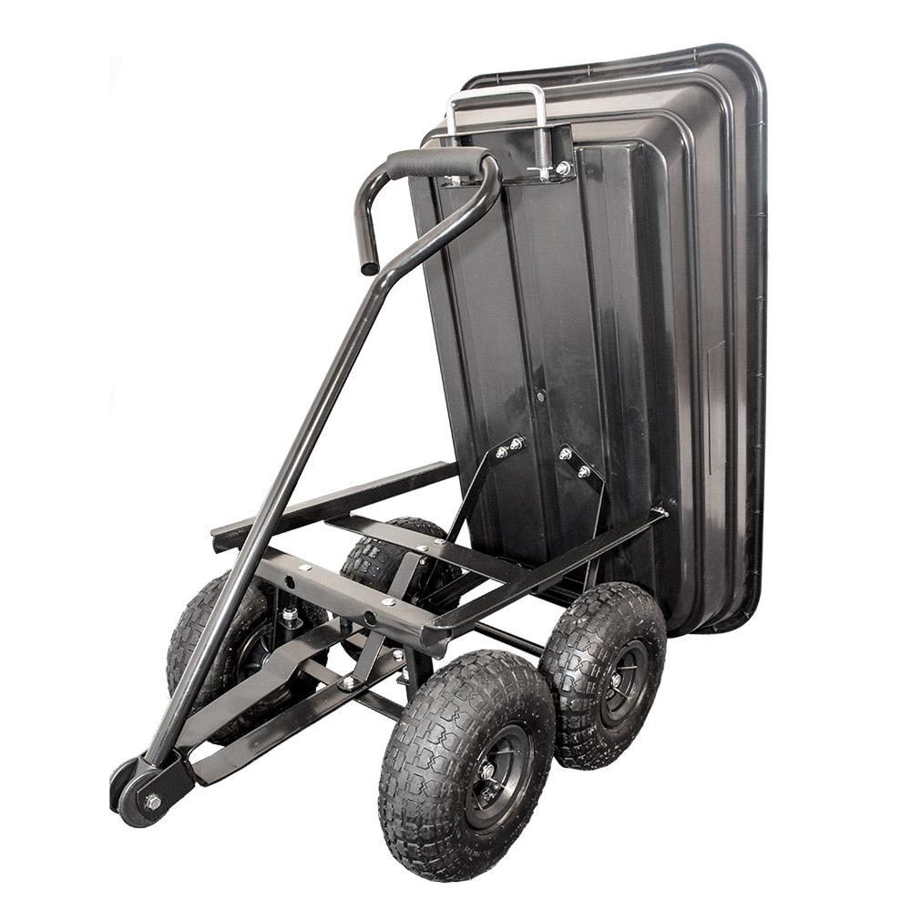transportkarre gartenkarre handwagen gartenwagen kippwagen ger tewagen neu ebay. Black Bedroom Furniture Sets. Home Design Ideas
