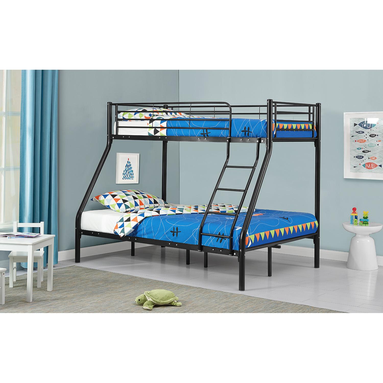 etagenbett hochbett metall doppelstockbett einzelbetten stockbett kinderbett neu ebay. Black Bedroom Furniture Sets. Home Design Ideas