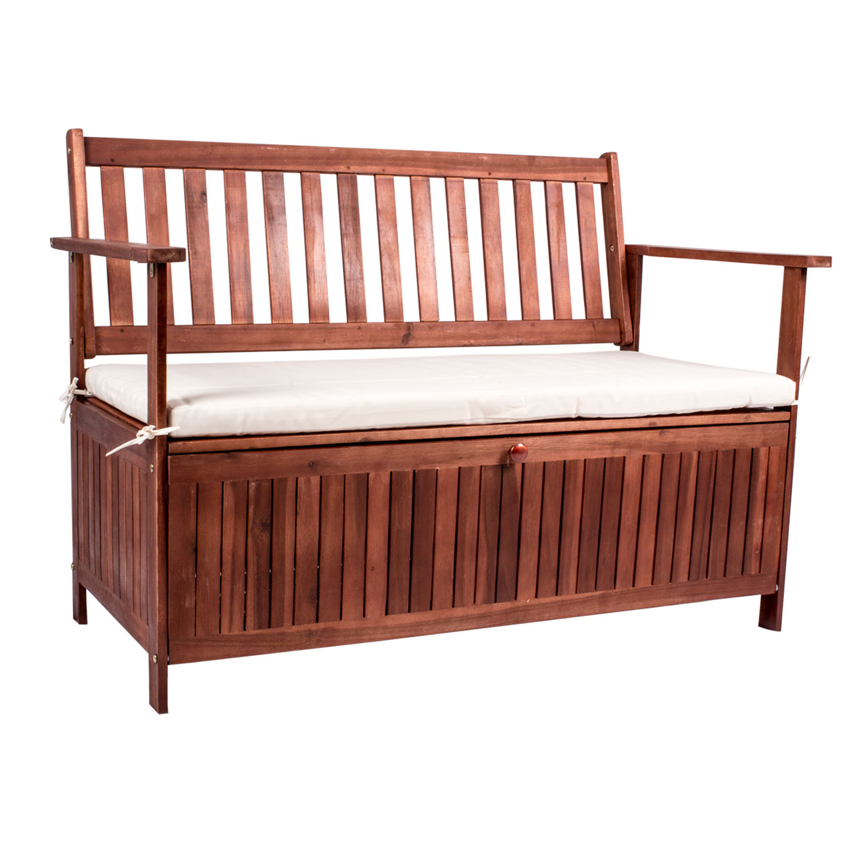 gartenm bel gartenbank akazie holzbank parkbank 2 sitzer sitzbank bank 3 sitzer ebay. Black Bedroom Furniture Sets. Home Design Ideas