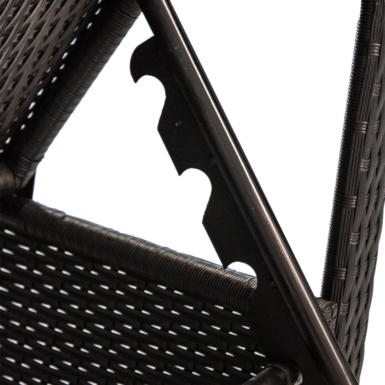 polyrattan gartenliege gartenm bel liegestuhl liege. Black Bedroom Furniture Sets. Home Design Ideas