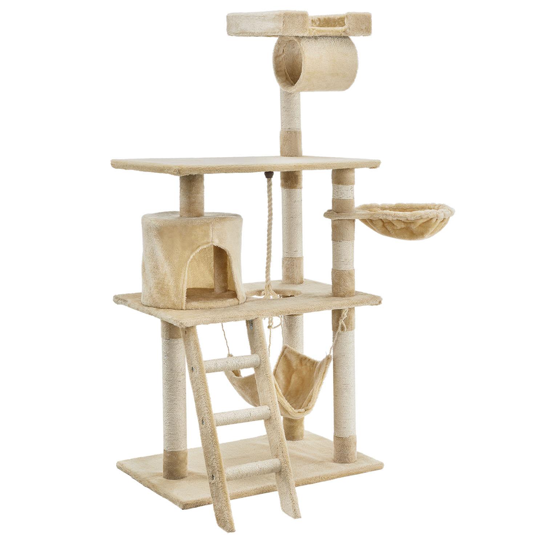 kratzbaum katzenbaum sisal kletterbaum sams pet katzen katzenkratzbaum spielbaum ebay. Black Bedroom Furniture Sets. Home Design Ideas