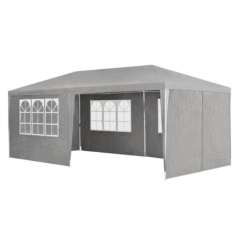 partyzelt pavillion gartenzelt festzelt gartenpavillion gazebo 3x6m metall neu ebay. Black Bedroom Furniture Sets. Home Design Ideas